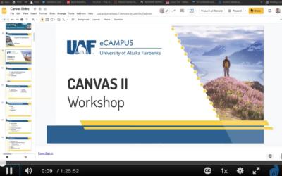 Canvas II Workshop